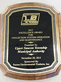 Excellence Award for Sewer System Operation