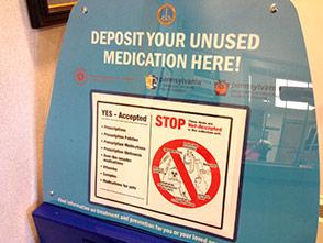 Prescription Drug Drop-Off Box