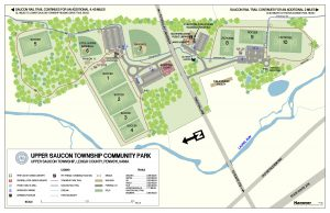 Upper Saucon Township Community Park Map